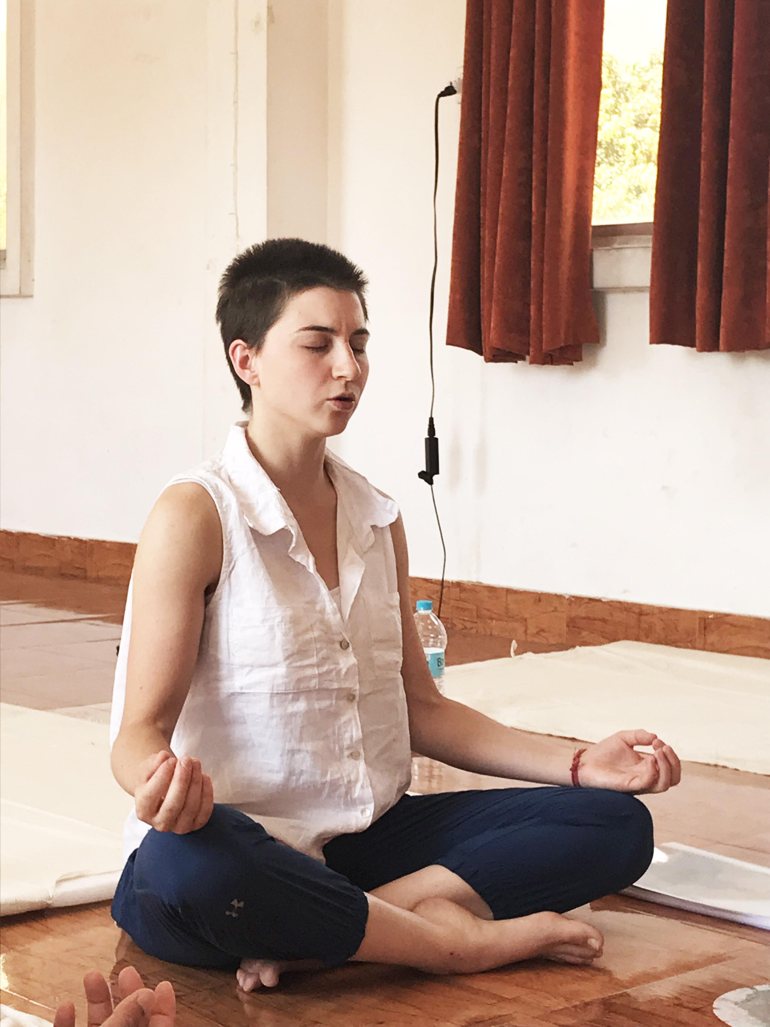 OM Meditation Teacher Training RIshikesh India - OM ...