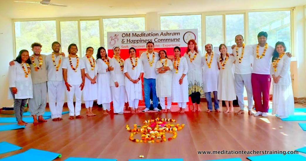 Meditation Teacher Training Rishikesh batch March 2019
